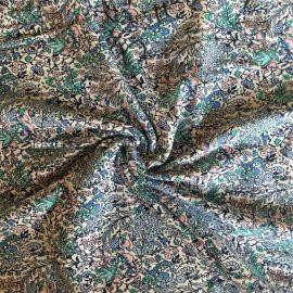 高檔絲光T恤針織面料40-100s單/雙絲光棉汗布 絲光棉印花面料