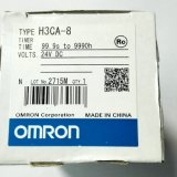 欧姆龙OMRON时间继电器H3CA-8 DC24V