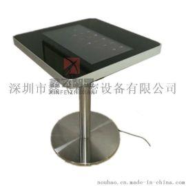 鑫飞智显 简约现代两人智能餐桌式安卓落地式自助点餐机娱乐游戏电脑一体机