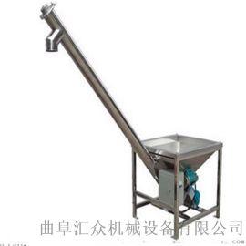304螺杆上料机螺旋加料机 水泥粉装罐用螺旋加料机
