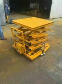 **锰钢升降平台河南1t高空取料车电工检修移动平台