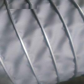 高温焊烟通风管高温夹布风管耐温400度软管