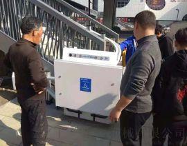 上海闵行区导轨式机械启运液压家用电梯斜挂轮椅平台