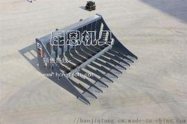HCN品牌小型滑移格柵鏟