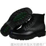黑色馬丁靴綜合勘察靴保安工作鞋執勤鞋