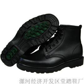 黑色马丁靴综合勘察靴保安工作鞋执勤鞋