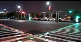 智能发光斑马线地埋式红绿灯斑马线LED信号地灯