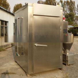 500型电加热烟熏炉鱼干熏烤制作设备  烘烤炉