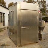500型電加熱煙燻爐魚乾燻烤製作設備燒雞烘烤爐