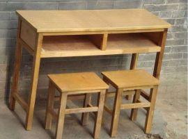 郑州课桌椅厂家|郑州单人课桌椅|钢木学生课桌凳