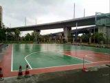供應硅PU球場材料聚氨酯籃球場材料
