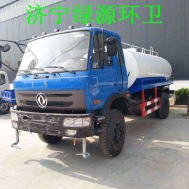 多辆工程绿化洒水车5吨二手东风洒水车价格