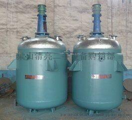二手全新2吨不锈钢反应釜低价出售