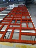 中式仿古木紋鋁窗花-覆膜鋁窗花廠家