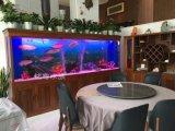 上海鱼缸工厂直销九间堂实木鱼缸 龙鱼水族箱
