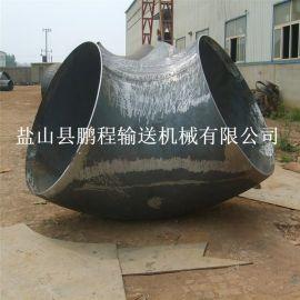 河北鹏程不锈钢碳钢对焊玛钢冲压 耐磨45 90度 无缝弯头管件
