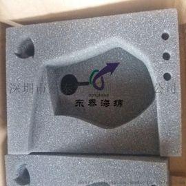 厂家定制鼠标海绵内衬 深圳异型线切割成型高密度海绵包装