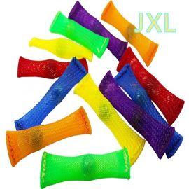 供应编织网管带玻璃珠、阻燃编织网管、益智玩具网、多动症玩具