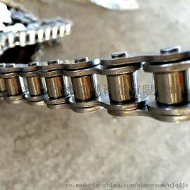 标准链条 配传动链轮 不锈钢链条 大滚子双节距链条