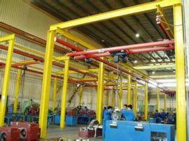 125kg柔性KBK组合式悬挂单梁起重机