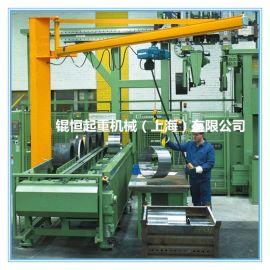 厂家生产悬臂吊,配套德马格电动葫芦,旋臂吊