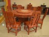 陕西西安老榆木餐桌,中式餐桌,红木餐桌