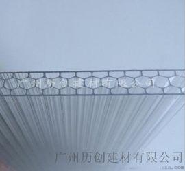 pc透明陽光板 PC蜂窩板 隔音難燃 廠家直銷