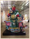 道教神像五路财神厂家,文财神武财神佛像生产供应厂家