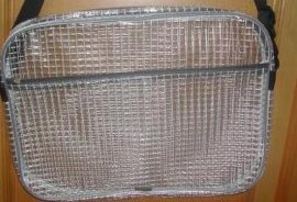 PVC透明夹网布(BD002)