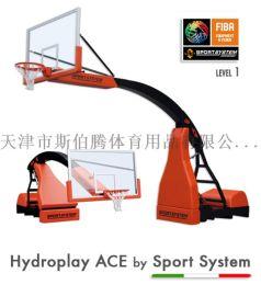 电动液压升降篮球架国家标准FIBA认证S04100
