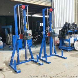 莞盈5.5kw工业树脂胶水分散机  量产油压分散机