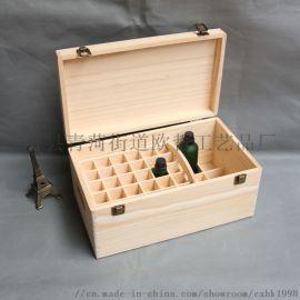 木盒松木盒精油包装盒定制礼品盒桐木茶叶盒欢迎打样
