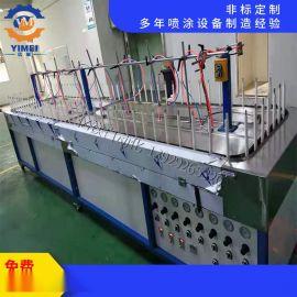 全自动喷油生产线  自动化喷油生产线 全自动喷漆机