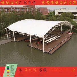 体育看台膜结构景观张拉膜遮阳雨篷