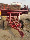 一臺高效的農林機械全自動植樹機