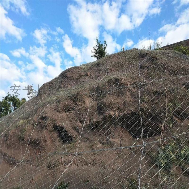 柔性主动边坡防护网.柔性边坡主动网.边坡主动防护网