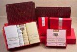 正品洁丽雅礼盒 花之语6 礼盒毛巾套装六件套 批发婚庆套装礼盒
