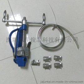 不锈钢打包带  自制不锈钢扎带 电缆不锈钢扎带
