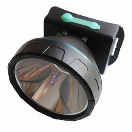 led头灯5W大功率锂电强光充电白光黄光矿灯钓鱼灯头戴手电筒批发