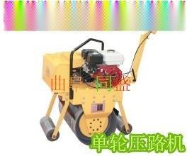 供应曲阜同盛TS-700单钢轮手扶式压路机
