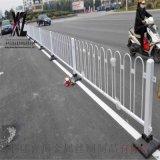 白色道路市政护栏@防撞栏道路护栏@道路专用隔离护栏