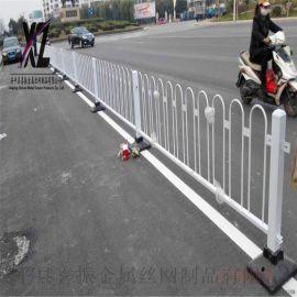 白  路市政护栏@防撞栏道路护栏@道路  隔离护栏