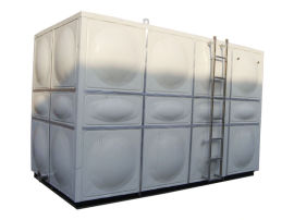 成品不锈钢水箱 玻璃钢生活消防水箱无锈蚀