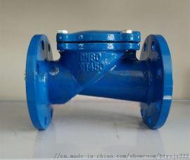 HC44X橡胶瓣止回阀DN80-100规格齐全