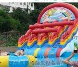河北支架游泳池充气水滑梯多样厂家直销