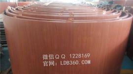 铝合金护墙板厂家定做色彩木纹板