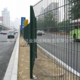 沃达公路护栏网 园林绿化铁丝网围栏 高速防护网厂家供应