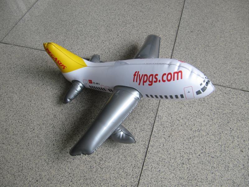 《工廠訂製》PVC充氣飛機模型 充氣內膽