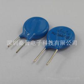 台湾产防雷压敏电阻10D151K 150V插件电阻DIP过压保护元器件批发
