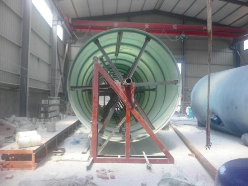 濰坊玻璃鋼化糞池纏繞設備